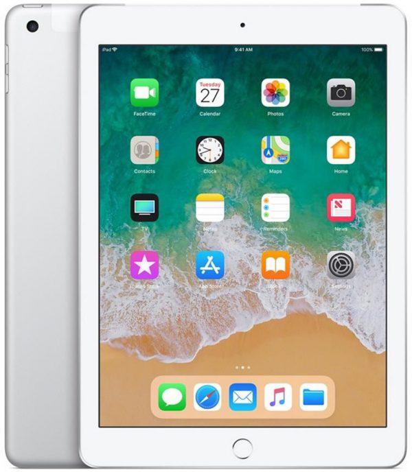 Apple iPad 128GB LTE Silver (MR732FD/A) - 1 zdjęcie