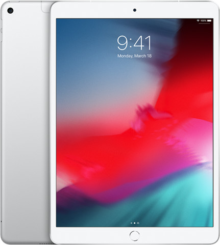 Apple iPad Air 10.5 Cell 256GB srebrny (MV0P2FD/A) - 1 zdjęcie