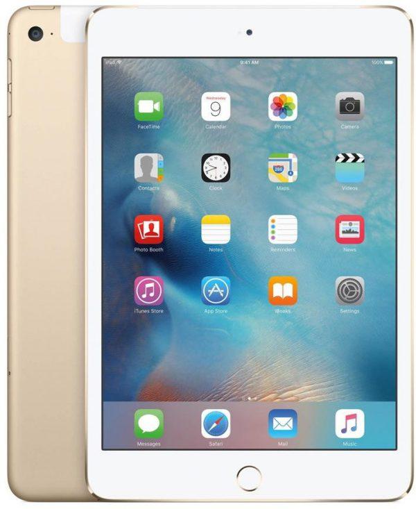 Apple iPad Mini 4 128GB LTE Gold  (MK782FD/A) - 1 zdjęcie