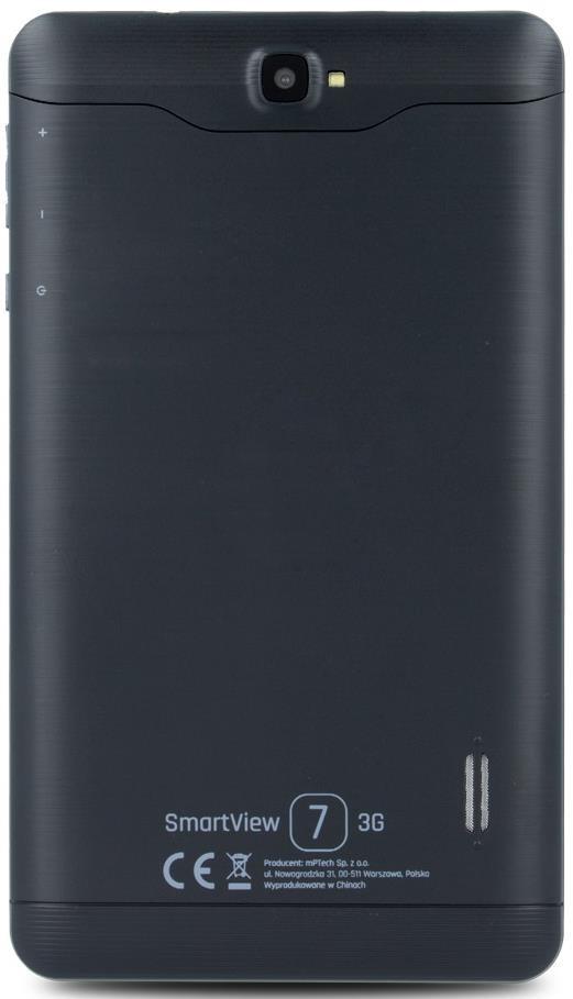 myPhone Smartview 7 8GB 3G czarny (SV73G) - 4 zdjęcie